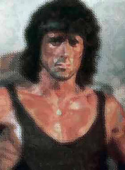 """Arbeiter"" Portraitgemälde, Portrait, Portraitmalerei, Portraitillustration, Portrait auf Leinwand, Ölgemälde, Ölmalerei von Rainer M. Osinger, www.osinger-grafik.at, http://www.osinger-grafik.at/portrait_portraitmalerei_portraitgemaelde.html"