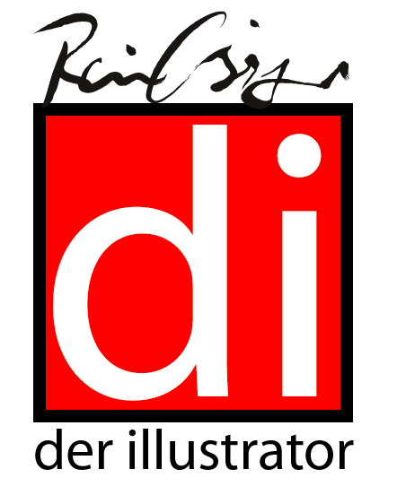 Illustrator Logo Osinger Buchillustrator, Medienillustrator, ILLUSTRATOR