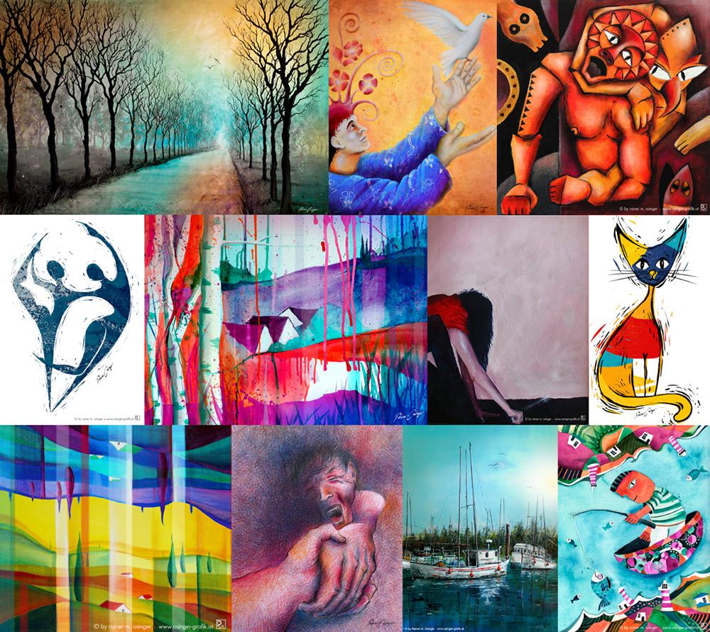 Kunstgrafik, Druckgrafik, Radierung, Malerei, Auftragsmalerei und Bildstellerei Rainer M. Osinger. Ich übernehme jede Art der Malerei, Kunstmalerei, und Grafik. Ich fertige Ihr Wunschbild in jeder Maltechnik und in jeder Größe – je nach Sujet und Art des Auftrages.