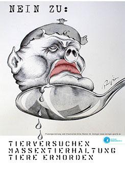 Grafiken und Illustrationen von Rainer M. Osinger in verschiedensten Techniken und Stilen umgesetzt. Kunstgrafik und Druckgrafik, Illustration und Buchillustration von Rainer M. Osinger;