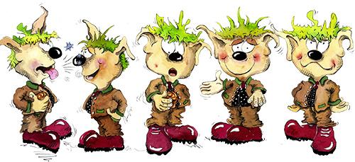 Character Sketches, Storyboard, concept art, Sketches, Rainer Osinger, Maskottchen, Comiczeichnungen, Comic, Cartoon, Trickfilm, Trickfilmfiguren, Trickfilmzeichnungen, Zeichentrick;