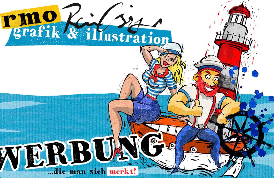 Werbegrafik, Gebrauchsgrafik, Grafikdesign, Design, Gestaltungen von Rainer M. Osinger